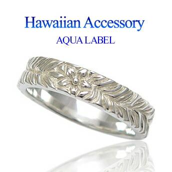ハワイアンスクロールクロスネックレス