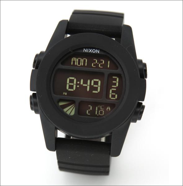 【NIXON】ニクソン メンズ 腕時計 THE UNIT(ユニット)オールブラックの本命デジタルウオッチ A197-000