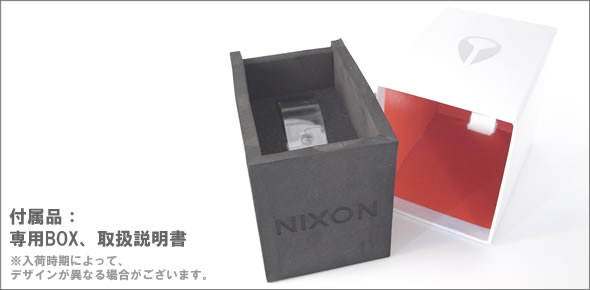 ニクソン THE AXIS (アクシス) モテ系クロノグラフ ブレスウオッチ シルバー A324-000