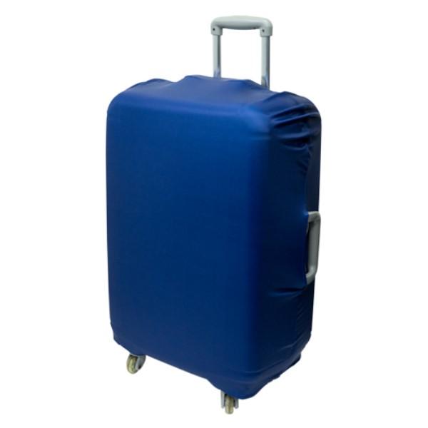 ミヨシ スーツケースカバー シンプルタイプ ネイビー 旅人専科 MBZ-SCL3/NV