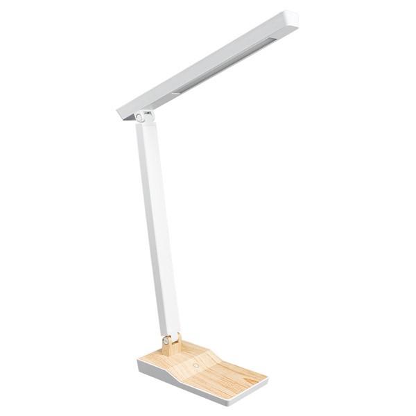 【期間限定ポイント5倍】ヤザワ 木目調LEDスタンドライト 調光付 5W ナチュラル SDLE05N14NA