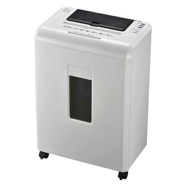【送料無料】OHM オートフィードマイクロカットシュレッダー オフィス用シュレッダー A4対応 ホワイト SHR-AF606C