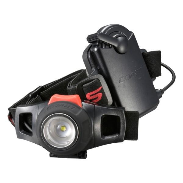 OHM COAST LEDヘッドライト 285lm 電池付属 HL7