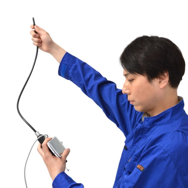 【期間限定ポイント2倍】【送料無料】サンコー 先端可動式USB工業用内視鏡 PC/スマホ/タブレット対応 WOSCRADJ