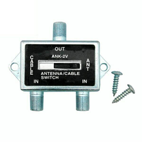 【返品保証】アンテナスイッチャー 屋内用電波切替器 地デジ・BS・CS対応