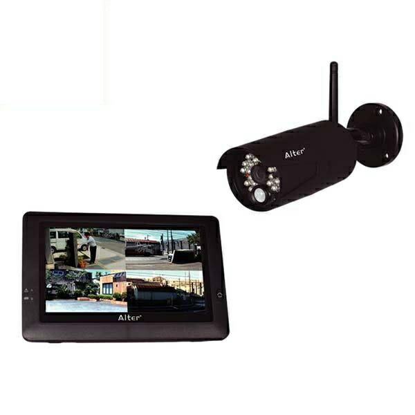【送料無料】オルタプラス ハイビジョン無線カメラ&モニターセット AT-8801