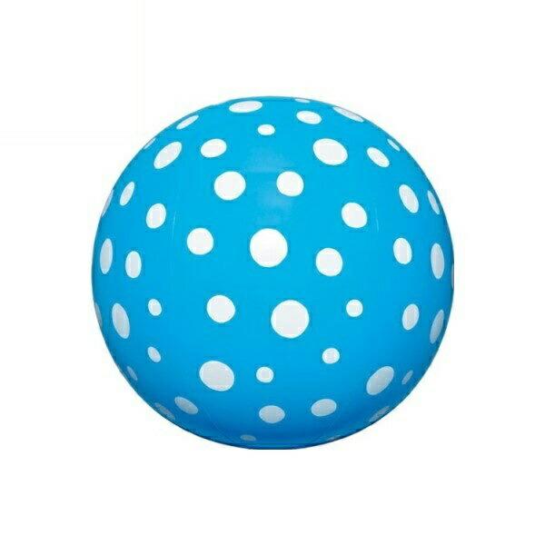 水玉ビーチボール 40cm ブルー BGP-540BL