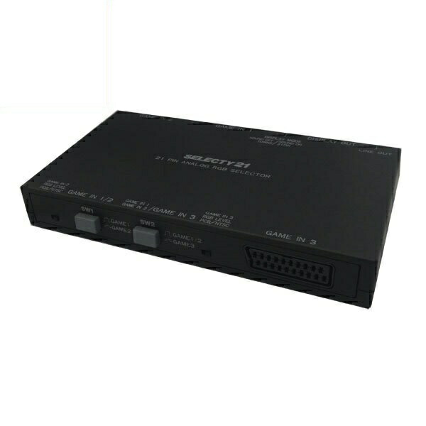 【20台限定】【送料無料】マイコンソフト SELECTY21 N 21ピンRGBセレクター DP3913552