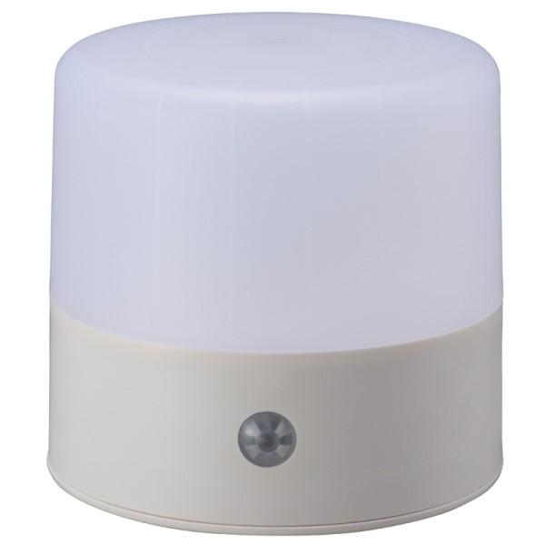 【期間限定ポイント2倍】OHM LEDダブルセンサーマルチライト NIT-BY1-W