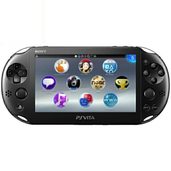【送料無料】SIE PlayStation Vita PSV2000 Wi-Fiモデル ブラック PCH-2000ZA11