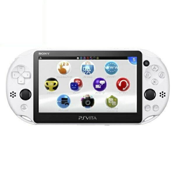 【送料無料】SIE PlayStation Vita PSV2000 Wi-Fiモデル グレイシャー・ホワイト PCH-2000ZA22