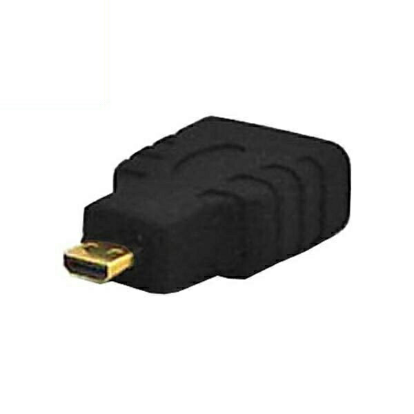 【期間限定ポイント5倍】【返品保証】HDMI(メス)-microHDMI(オス)変換プラグ HDMI変換アダプタ VAD-HDD