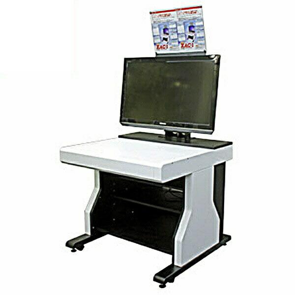 【72時間限定ポイント5倍】【送料無料】マイコンソフト ゲーミングコンピューターデスク 組み立て式 XAC-1