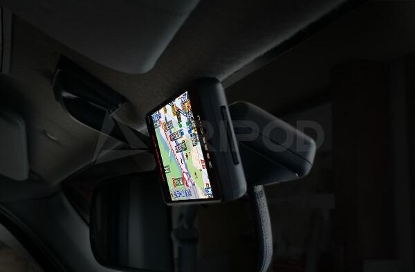 【MD-STMULTI】レーダー探知機・GPS・ビーコン汎用マルチアンテナステー