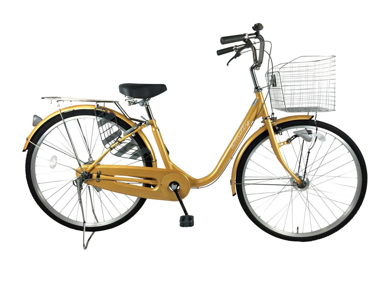黄色自転車