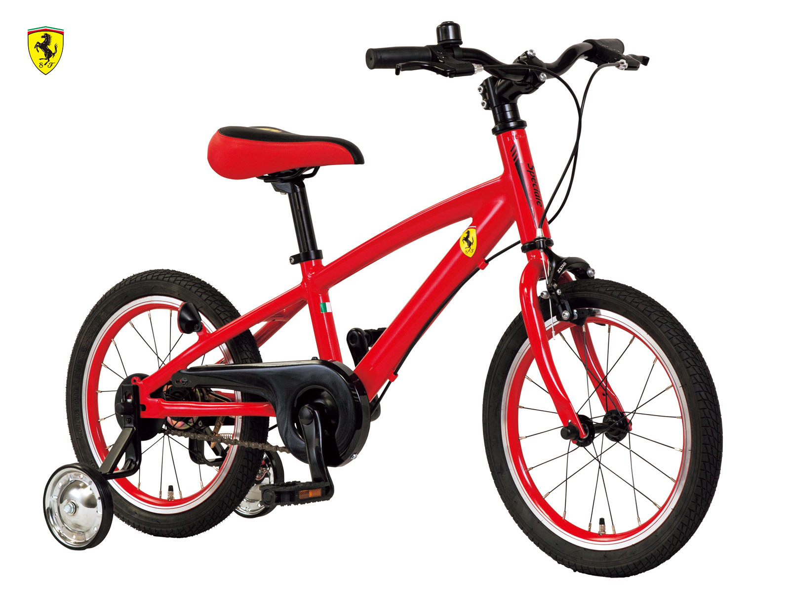 [ALTA Class]軽量アルミフレーム・プレミアムキッズバイク 16inch モノコック風フレーム、軽量9.3kg、高級キッズバイク
