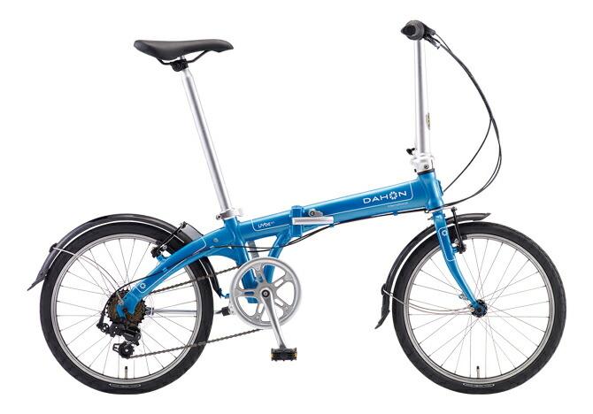 2台セット販売【送料無料 折りたたみ自転車 DAHON Vybe D7 ダホン 自転車】アクアブルー 水色 【20インチ 折りたたみ自転車 外装7段変速ギア】Aqua Blue ダホン 折りたたみ自転車 DAHON ヴァイブ D7 軽量アルミフレームモデルのヴァイブD7。遊び心のあるカラー、7段変速、マッドガードなど、 フォールディングバイクに求める基本性能をすべて備えた折りたたみ自転車ダホン