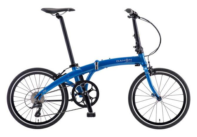 【ゴルフコンペ ゴルフ景品に最適】【送料無料 折りたたみ自転車 DAHON Mu SP9 ダホン 自転車】マテリックブルー 青 【20インチ 折りたたみ自転車 外装9段変速ギア】Metallic Blue ダホン 折りたたみ自転車 DAHON ミュー SP9 【ゴルフ景品に最適】曲線を活かした優美なフォルムに、ロングライドに適した451ホイールを採用した折りたたみ自転車DAHON。本格的な走りを存分に楽しめるスポーツモデルのダホンです。