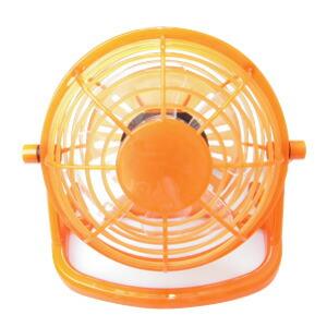 扇風機オレンジ