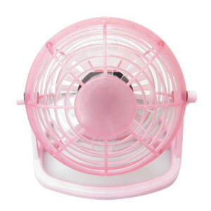 扇風機ピンク