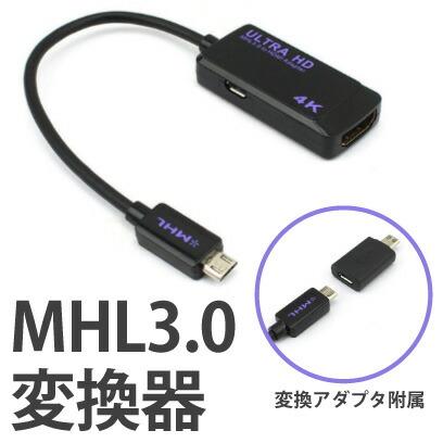 MHL3.0 変換器