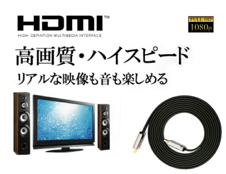 HDMIケーブル安定性能