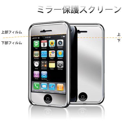 iphoneミラー液晶フィルム