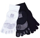 Running: Five sports finger socks (with a thin sliding stopper short length) SML