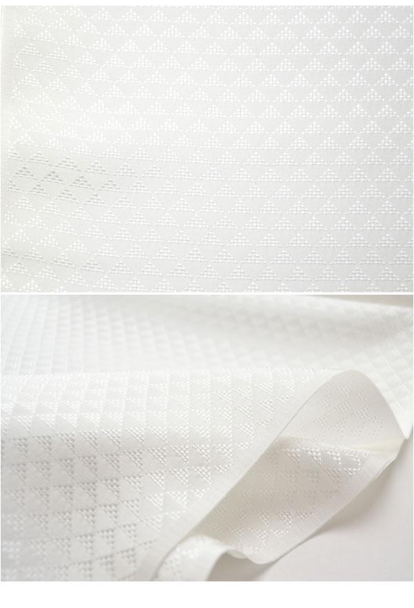 【長襦袢反物】正絹 夏紋紗長襦袢地 小松織物 鱗柄