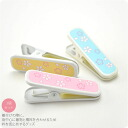 [women-fitting-neck] Kimono clips with cherry blossoms pattern/ Total 3 pieces/ For collar holding [Designed in Japan]