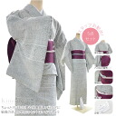 GL【women-kimono-set】 Unlined Kimono wearing set item including 5 items/ M・L Size