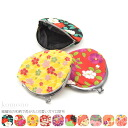 GL[gamaguchi-wallet]  40244 Japanese Patterned Gamaguchi(Metal Clasp Mouth Coin Case) / Round Shape / Cirimen(Fine Creped Model) [Designed in Japan]  fs04gm