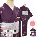 GL[women-kimono-set] Womens Lined Kimono Dressing 2 Item Set/ M Size[Designed in Japan]  fs04gm