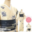 GL[women-kimono] Women's Kimono For Dancing Festival / Winds-God and Thunder God  / White / Lined Model / Made of Polyester[Designed in Japan]fs04gm