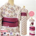 GL[women-kimono] Classical Patterned Kimono Dressing 4 Items Set/ Size: L / No.21-27 [Designed in Japan] fs04gm