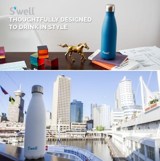 サーモス 水筒 二重構造 保温12時間 保冷24時間 おしゃれ 水筒 swell bottle スウェル ステンレスボトル 最安値