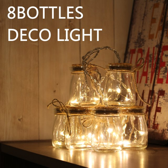 8�ܥȥ륺�ǥ��饤�� 8BOTTLES DECO LIGHT 8bottles decolight