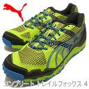 PUMA (푸 마) 컴플리트 트레일 폭스 4 라임 펀치/블랙/블루 애 스 터 [신발/운동 화/신발]