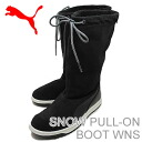 PUMA (PUMA) SNOW PULL-ON BOOT WNS (スノープルオン boots women's) black
