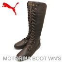 PUMA (PUMA) MOTORINA BOOT WN's (モトリーナ boots women's) chocolate brown/chocolate brown