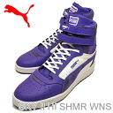 (PUMA) PUMA SKY II HI SHMR WNS (sky II Hi Womens SHMR) Clematis blue [shoes & Sneakers Shoes]