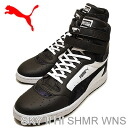(PUMA) PUMA SKY II HI SHMR WNS (sky II Hi SHMR Womens) black and white [shoes & Sneakers Shoes]
