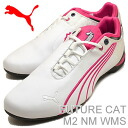 (PUMA) PUMA FUTURE CAT M2 NM WNS (Womens future cat M2 NM) white/cabaret [shoes & Sneakers Shoes]