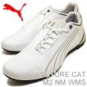 (PUMA) PUMA FUTURE CAT M2 NM WNS (Womens future cat M2 NM) white/grey violet / blue [shoes & Sneakers Shoes]