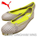 PUMA (PUMA) ELSIE GINGHAM WNS (women's Elsie gingham) Opal grey [shoes, pumps Sneakers Shoes]