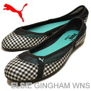 PUMA (PUMA) ELSIE GINGHAM WNS (Elsie gingham women's) black [shoes, pumps Sneakers Shoes]