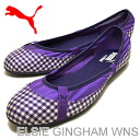 PUMA (PUMA) ELSIE GINGHAM WNS (Elsie gingham women's) Liberty Blue [shoes, pumps Sneakers Shoes]