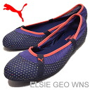 PUMA (PUMA) ELSIE GEO WNS (Elsie geo women's) medieval blue [shoes, pumps Sneakers Shoes]