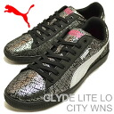 PUMA (PUMA) GLYDE LITE LO CITY WNS (glide light low city women's) black [shoes & Sneakers Shoes]