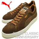 (PUMA) PUMA SUEDE CLASSIC ANNIVERSARY (スウェードクラシックアニバーサリー) Brown/metallic gold/white [shoes & Sneakers Shoes]